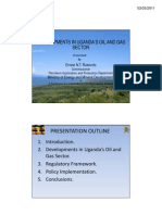 Uganda Oil Overview 2011
