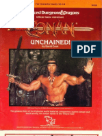 AD&D 1st - 9123 - CB1 - Conan Unchained!