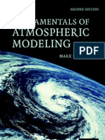 Fundamental of Atmospheric Modeling - Jacobson