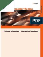 informacion tecnica brocas