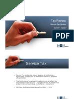 Tax Review l Service Tax Update l April 2011 - 1