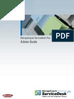AdventNet Manage Engine Service Desk Plus 5 Help Admin Guide