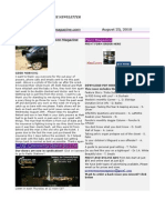 August 23 Newsletter