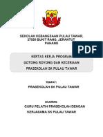 Kertas Kerja Gotong Royong Pra