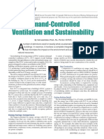 Demand-Controlled Ventilation and Sustainability