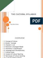 culturalsyllabus-091123181047-phpapp01