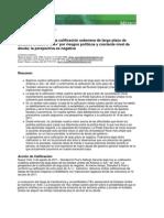 Standard & Poor´s Calificación AA+ EE.UU