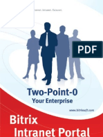 Bitrix Intranet Portal Brochure