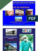Heridas Traumatic As. Clasificacion y Tipos. Prof. Dr. Luis Del Rio Diez
