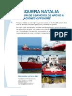 Pesquera Natalia Division Apoyo Operaciones Off Shore Rev 2011-1