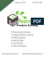 GreenPurposeProductCatalog!!