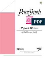 Report Writer Manual
