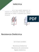 Resistencia Dieléctrica