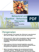 Teori Cognitive Behavieur