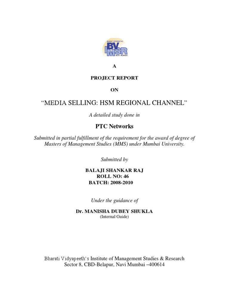 Media Selling_HSM Regional Channel | Audience Measurement
