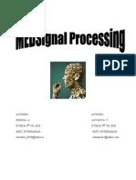 Medsignal Processing