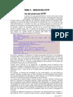 Tema 6 Servicios HTTP