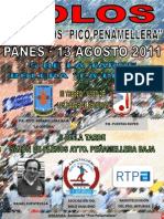 "Cartel XVII Premios ""Pico Peñamellera"""
