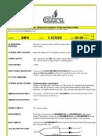 BMW E36 Alarm Data