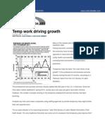 Temp Work Driving Growth