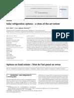 5-2. Solar Refrigeration
