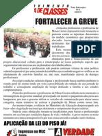 Apoio do MLC à greve dos professores de MG - 2011