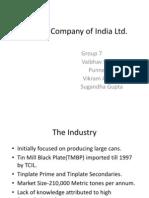 Tinplate Company of India Ltd