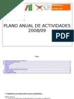 Plano Actividades da Biblioteca 2008-2009