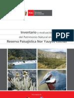 Invent a Rio y Evaluacion Del Patrimonio Natural en La Rpnyc