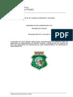 Tomada de Preços Nº  20110024 - CAGECE (Serviços de manutenção do centro social e recreativo do Pici)