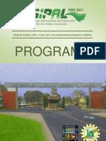 SIPAL 2011 UNALM PROGRAMA