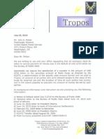 Potter USPMG Bureau of Public Debt Default Notice July 2010