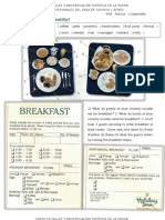 Class 8 - Food and Drink - Room Service, Breakfast - Reservations - Receiving the Guest