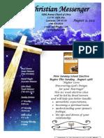 August 9 Newsletter