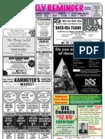 Weekly Reminder July 7, 2011
