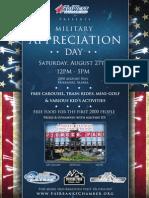 Military Appreciation Flyer