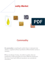 Commodities Markets