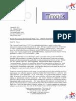 UPU Notice of Default Jan 6 2011