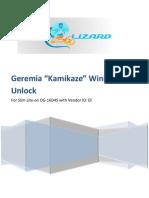 Kamikaze Unlock v1.0