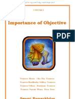 Importance of Objective