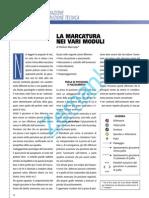 La Marcatura Nei Vari Moduli Di Stefano Maccoppi