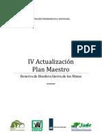 IV actualización del Plan Maestro 2010-2014