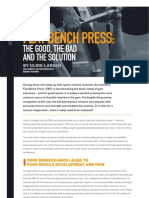 Bench Press Article