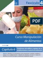 Fasciculo 4 - Folleto Manipulacion de Alimentos
