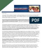 Marriage Amendment E-mail