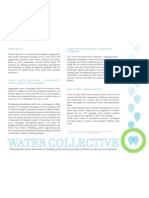 Water Collective Summary
