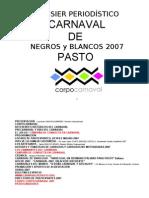 """Presentacio Carnaval """"Dossier"""""""