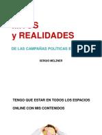 Mitos y realidades de las campañas políticas en internet - Sergio Melzner