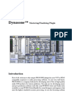 Dynasone User's Manual