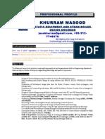 Design Engineer Khurram Masood1